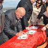В Керчи отметили 75-летие Обелиска славы на горе Митридат