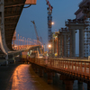 Песков подтвердил, что Путин проедет по Крымскому мосту на поезде