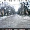 Улица Розы Люксембург до сих пор погребена под льдом и снегом