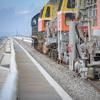 Росгвардия охраняет ж/д часть Крымского моста
