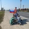 Инвалидная коляска не стала преградой для путешествий автостопом по Крыму