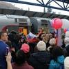 Первый поезд из Крыма приехал в Петербург
