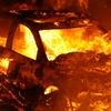 Ночью в Керчи горела «Волга»