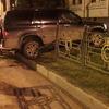В Керчи автоледи «под градусом» въехала в забор