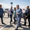 Зеленский приехал посмотреть на крымскую границу