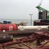 Новый гидромолот на стройке Керченского моста облегчит погружение свай