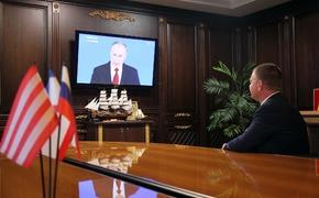 Мэр Керчи показал, как он смотрел Путина