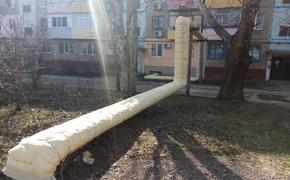 В Керчи активно взялись за изоляцию труб отопления