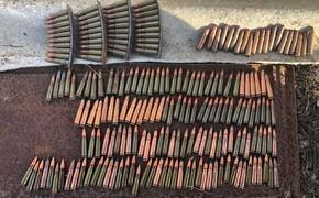Под Керчью нашли целый ящик патронов и гранат
