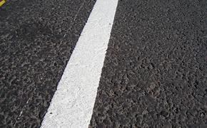 На дороги Крыма нанесут пластиковую разметку