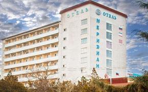 Приставы арестовали здание гостиницы «Меридиан»