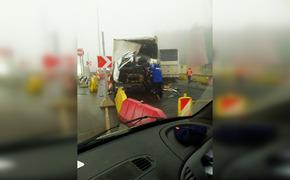 На «Тавриде» столкнулись автобус и грузовик