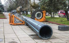 Водовод в Керчи заменят за 300 миллионов
