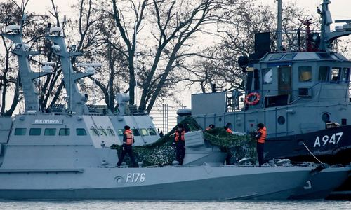 Украина снова направит корабли в Керченский пролив