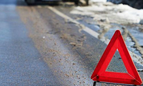 На трассе Симферополь – Керчь опрокинулась легковушка