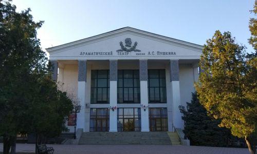 За 20 миллионов город завершит ремонт театра имени Пушкина