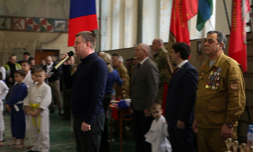 Спортсмены почтили память войнов-афганцев