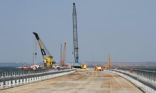 На возведение пролета Керченского моста понадобится 10 тысяч тонн металла