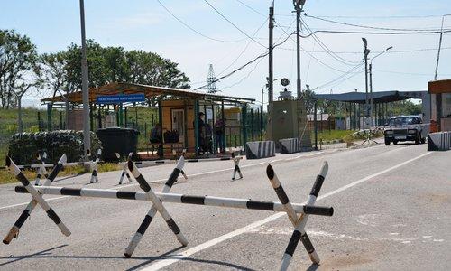 Крымские пограничники рассказали об увеличении трафика на границе