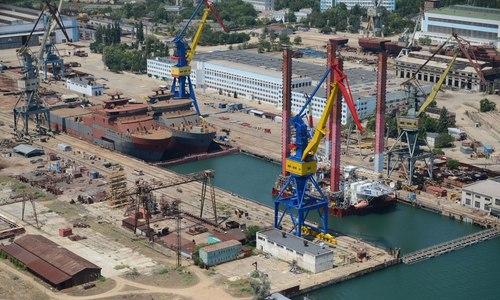 На керченском «Заливе» строят танкеры. Уже готовы корпуса
