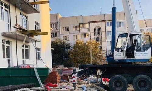 В Керчи достраивают дом для депортированных в ВОВ