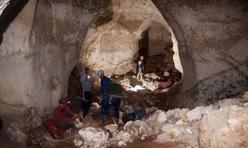 Найденную в Крыму пещеру назвали в честь трассы «Таврида»