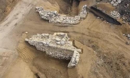 Опубликовано видео самого крупного археологического открытия 2016 года под Керчью