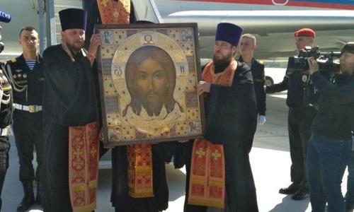 В Керчь прибывает икона Спас Нерукотворный