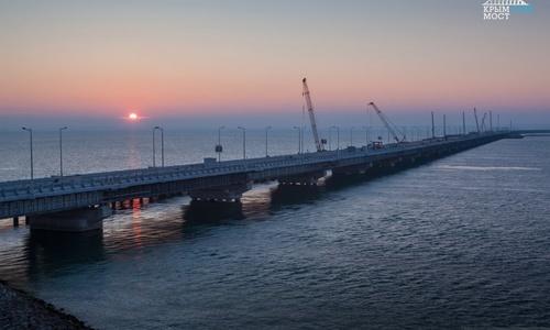 Завтра Путин откроет Крымский мост