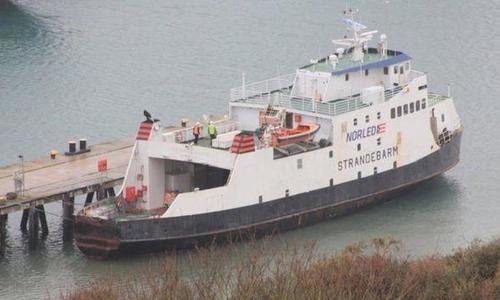 Задержанный в Британии корабль с крымчанами возвращается