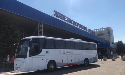По «единому» билету в Крым возят на новых автобусах