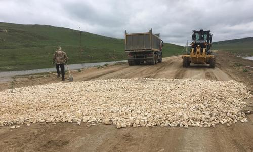 Дорогу от Войково до Курортного отремонтировали