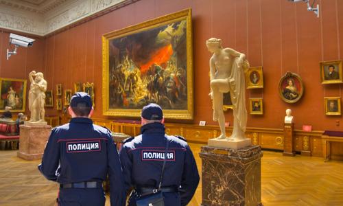Российские системы безопасности протестируют на музеях Крыма