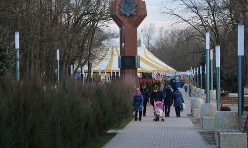Керчанам презентовали обновленный Комсомольский парк