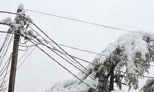 В Керчь вернули пропавший из-за непогоды снег