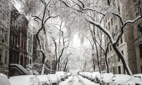Крымчан предупредили о морозах и шторме