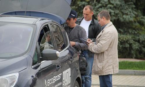 Керчане тестируют «Форд»
