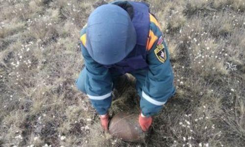 Возле ж/д станции в Багерово нашли две бомбы
