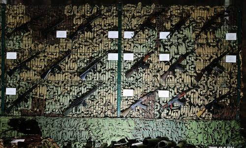 В Керчь приедет выставка сирийских военных трофеев