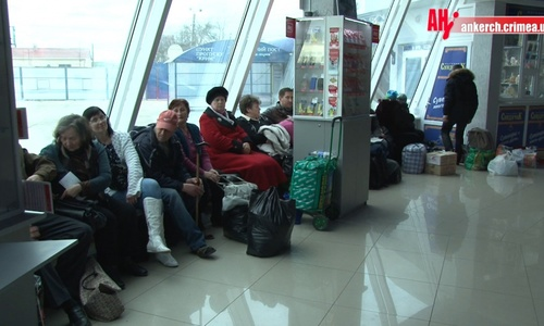 Туман в Керченском проливе не дает ходить паромам