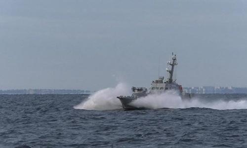 Украина проводит стрельбы в Черном и Азовском морях