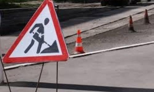 В разгар курортного сезона рабочие приступили к ремонту дороги под Керчью