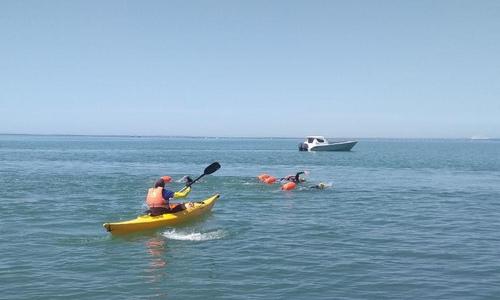 Приплыли: Керченский пролив пересекли 42 пловца