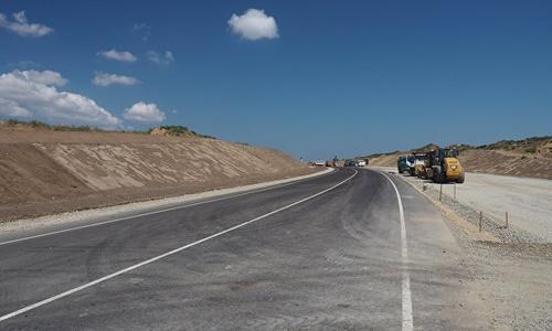 Строительство автоподходов к мосту с керченской стороны покажут всем