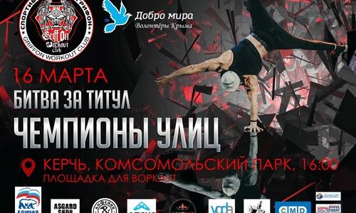Ко Дню воссоединения в Керчи пройдет турнир по воркаут