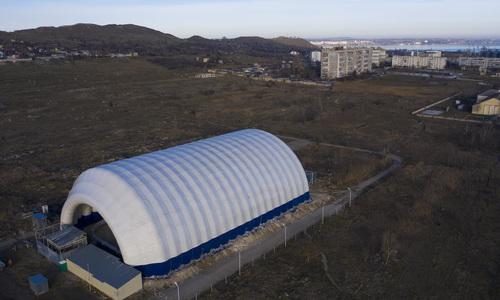 Керченский ледовый каток поборется с жарой