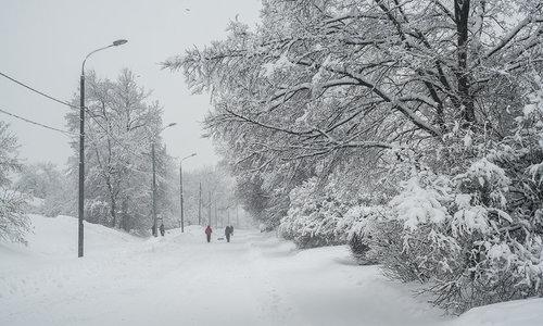 Послезавтра на Крым обрушатся снегопады с метелью