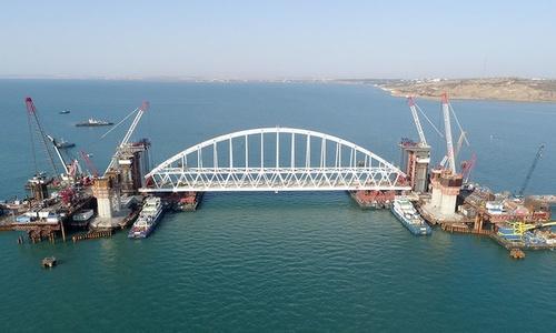Керченский мост достроят раньше срока
