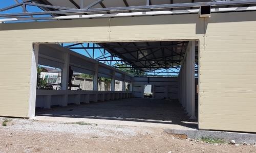 Нарушения устранены: строительство МФЦ продолжается