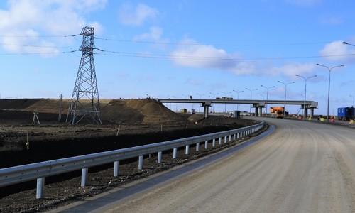 Открыты все полосы на съездах к Крымскому мосту